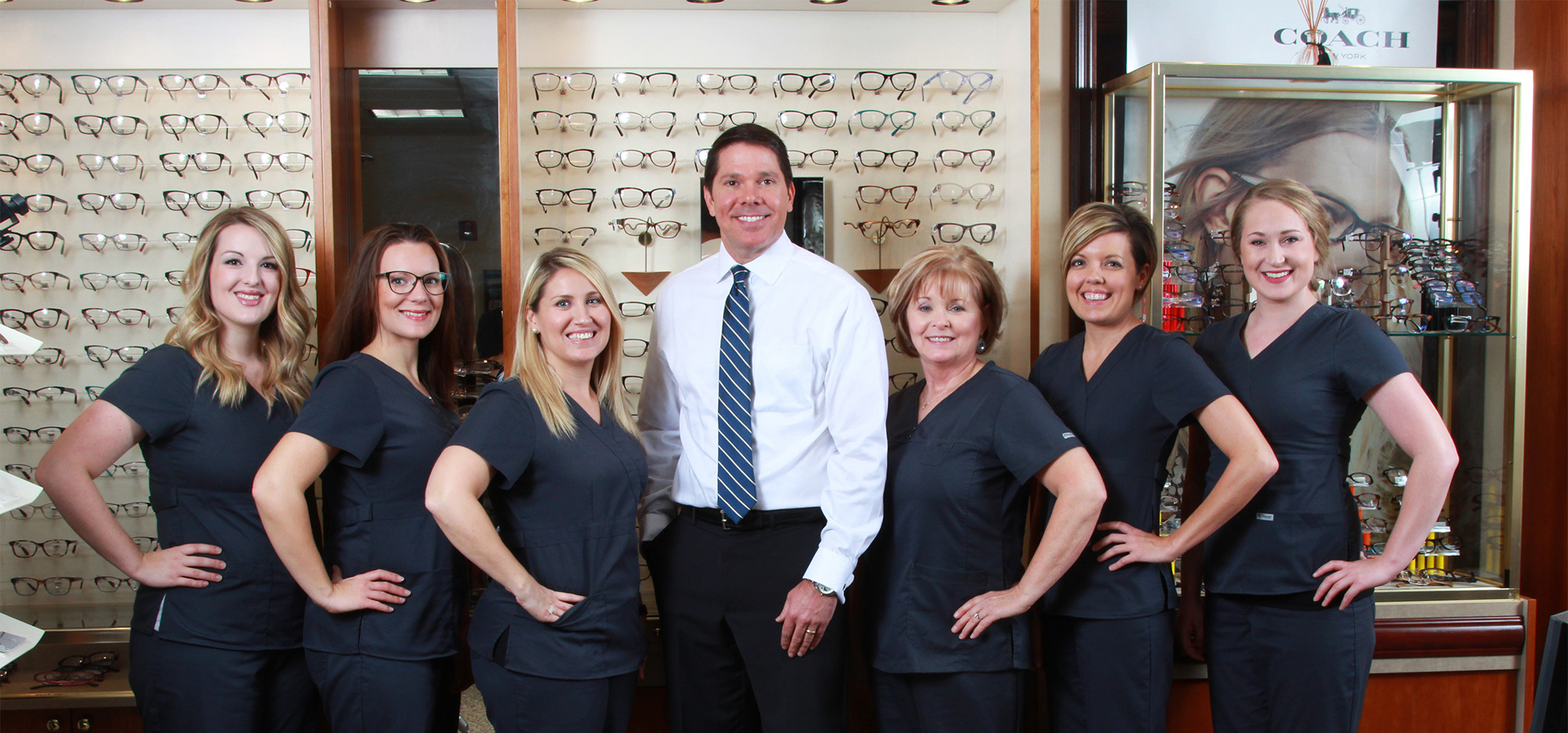 Dr Fry and Staff